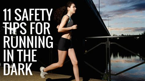 11 running safety tips for 11 safety tips for running in the sports academic