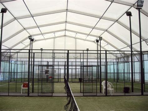 Home Decorators Company by Padel Court Internal View Fabric Framed Structure