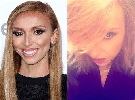 why did guilliana rancic color her hair giuliana rancic chops off her hair see her shorter do