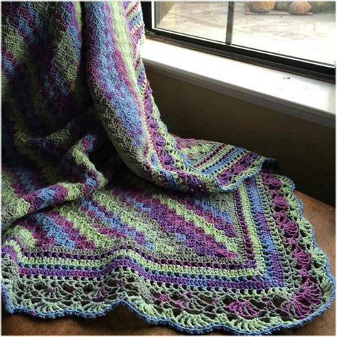 image edge pattern how to crochet blanket with fabulous edge free pattern