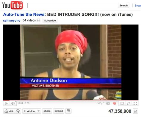 bedroom intruder song the top 10 videos on youtube in 2010