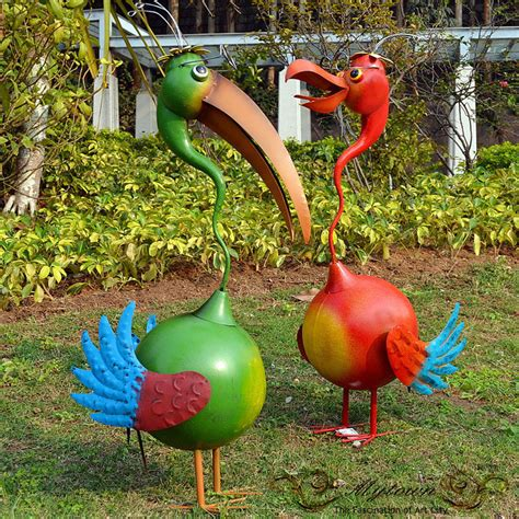 Bird Statues Garden Decor Home Garden Decor Ibis Birds Lawn Ornaments Statues Green 88cm Ebay