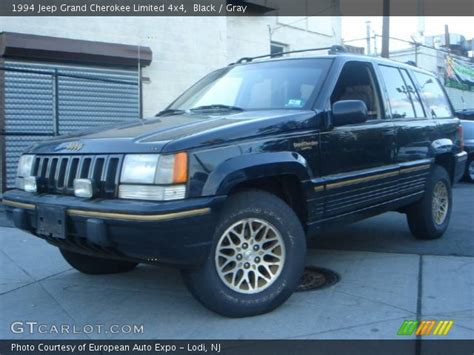 jeep grand limited 4x4 i a 1994 jeep grand black 1994 jeep grand limited 4x4 gray