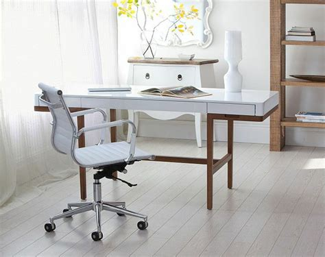 two affordable home office desks with a vintage vibe at