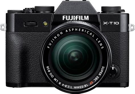 Kamera Fujifilm T10 fujifilm x t10 system kamera fujinon xf18 55mm f2 8 4 r lm ois zoom 16 3 megapixel