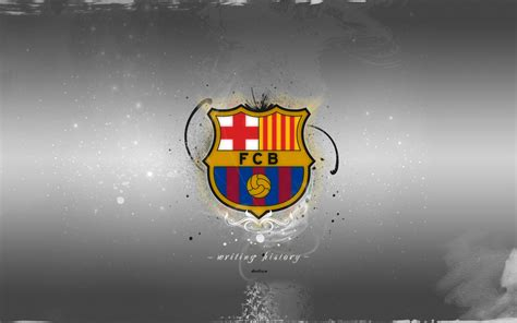 fc barcelona wallpaper widescreen fc barcelona hd desktop writing history by devilem free
