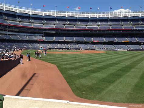 Yankee Stadium Section 107 New York Yankees