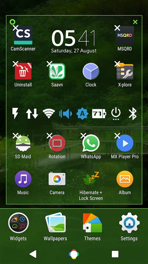 xperia themes play store nature nougat theme for xperia android apps on google play