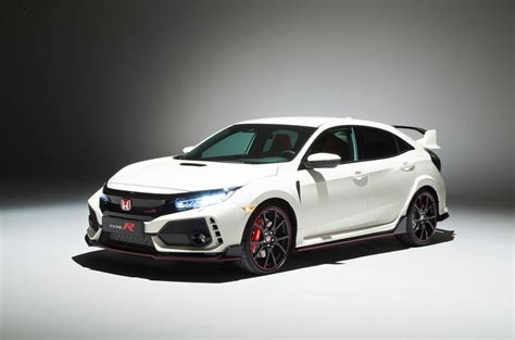 honda civic type r images from the geneva motor show 2017