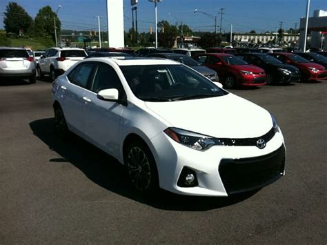 toyota jeep white white 2015 toyota corolla s plus this is my new car