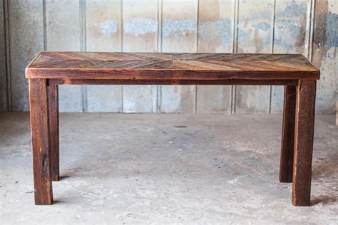 sectional tables reclaimed wood sofa table reclaimed wood farm table