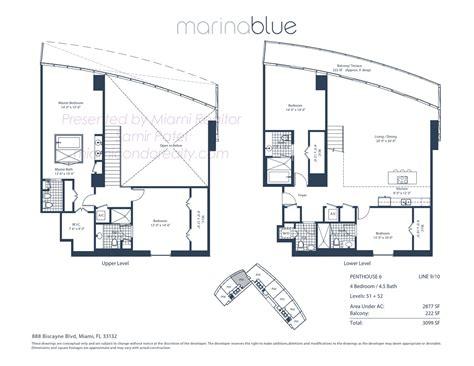 marina blue floor plans marina blue condos 888 biscayne blvd miami fl 33132