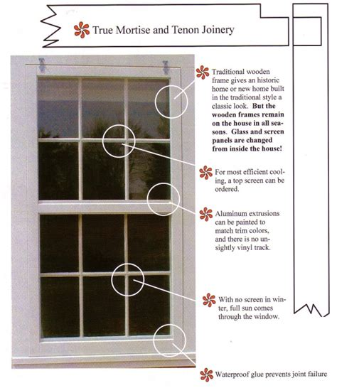 Frame Alternatives by Traditional Wood Storm Windows