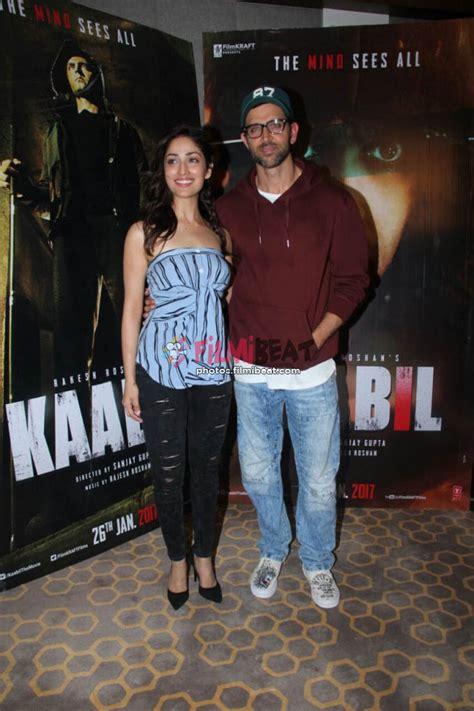 kaabil movie showtimes in mumbai online ticket booking photos hrithik roshan yami gautam promote kaabil movie