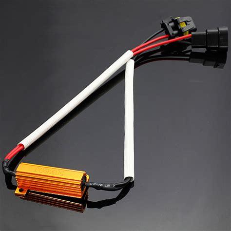 led light resistor 50w 6r 6ohm load resistor wiring canceled decoder hid led light alex nld