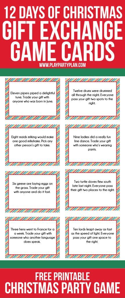 Gift Card Exchange Game - best 25 gift exchange games ideas on pinterest christmas gift games christmas gift