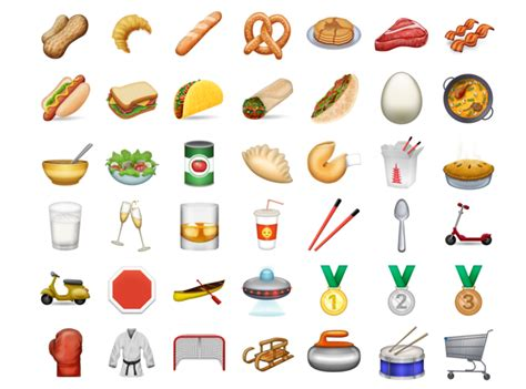 emoji list new emojis for 2017 previewed