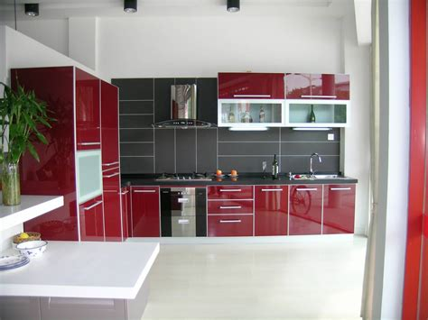 red and black kitchen cabinets spacitylife com home design blog black granite
