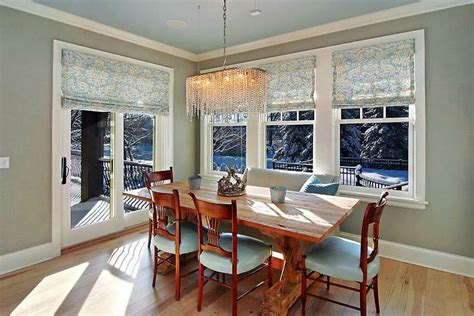 Dining Room Window Sliding Patio Door Window Treatment Home Improvement Ideas Window Window