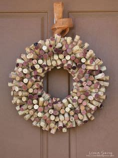 how to make eco friendly wreaths corks wine corks and cork wreath