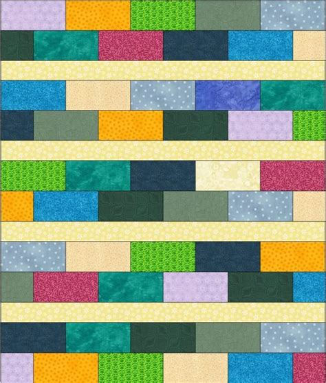 Baby Bricks Quilt Pattern by 10 Best Images About Quilts Brick Pattern On