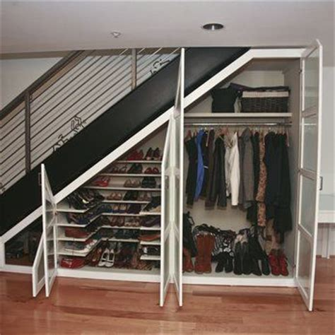Storage Ideas For Closet Stairs by 25 Best Ideas About Closet Stairs On Shelves Stairs Stair