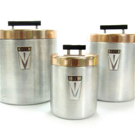 kitchen canisters flour sugar best copper canister set products on wanelo
