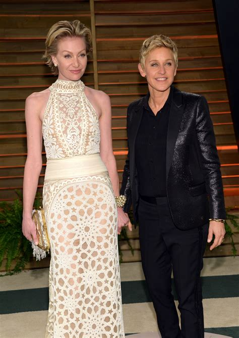 and portia 2014 oscars 2014 degeneres crashes with most a