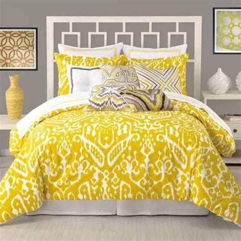 yellow and white comforter set yellow and white bedding bedroom decor ideas