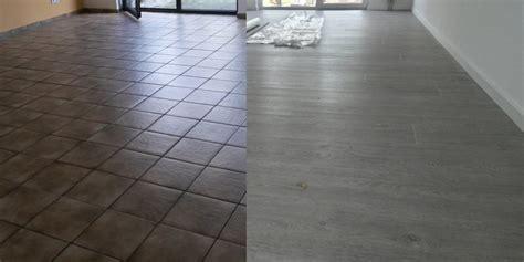 vinylboden fliesen vinylboden auf alten fliesen verlegen bodenbel 228 ge und