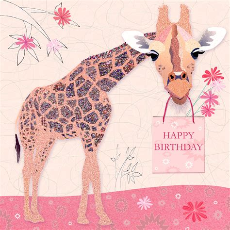 printable birthday cards with giraffes cards victoria hooper duckham
