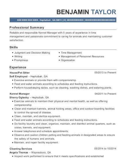 Pet Sitter Resume by Pet Sitter Resume Annecarolynbird