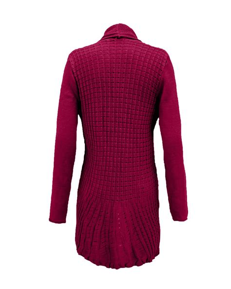 Ca161 New Rope Knit Top womens knitted boyfriend open front cardigan top dress cable knit jumper ebay