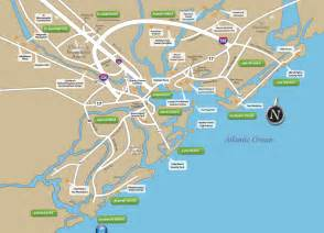 maps of hsitoric downtown charleston residential and