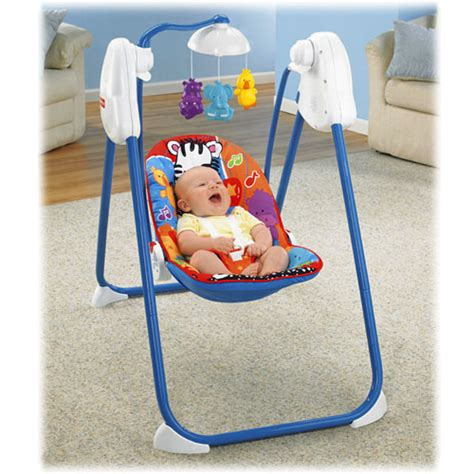 fisher price animal swing object moved