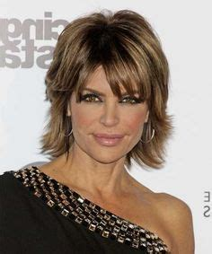 face shape of sharon stone and lisa rinna medium hairstyles for women over 40 with fine hair and