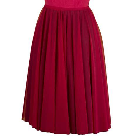 falda circular con tablones falda de baile circular para mujer moira