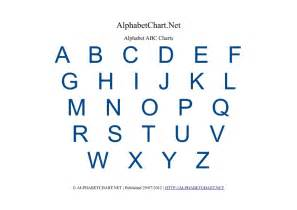 free printable alphabet charts in 7 colors alphabet