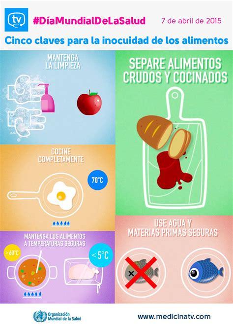 oms alimentos oms aconseja limpiar los alimentos mantenerlos a