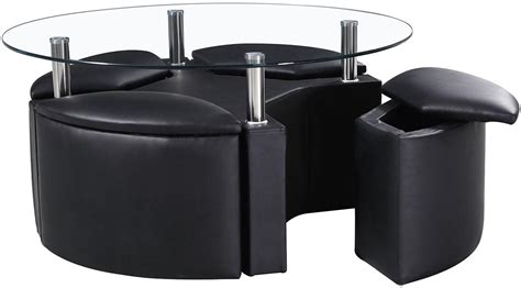 Black Coffee Table With Stools by Black Coffee Table With Stools Coffee Table Design Ideas