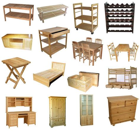 furniture items wood furniture manufacturers types of wood