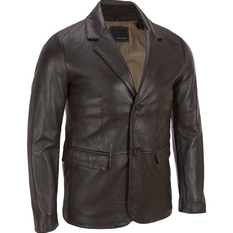 Blazer Wilson wilsons leather 2 button smooth blazer blazers