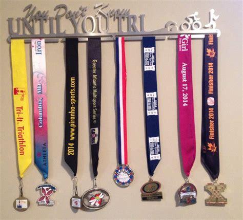 Triathlon Medal Rack by Race Medal Reorganization Elbowglitter