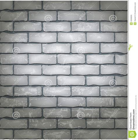 white brick wall stock vector image of material
