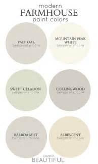 Modern farmhouse color palette best paint colors for modern farmhouse