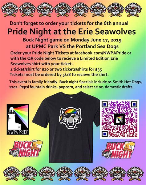 pride night erie seawolves june