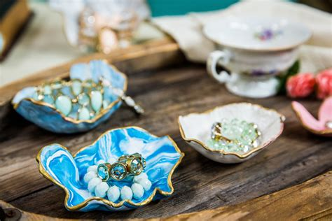 diy marbled jewelry dish home family hallmark channel