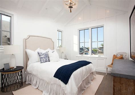 board and batten bedroom cape cod inspired beach cottage home bunch interior