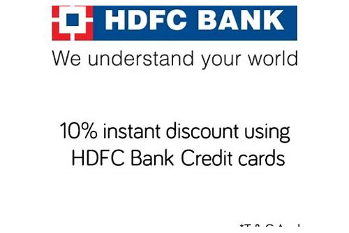 hdfc bank credit card ebay coupon code