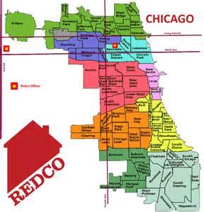 Neighborhoods In Map Chicago Neighborhood Map
